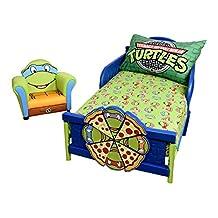 Teeange Mutant Ninja Turtles 2 Piece Toddler Sheet Set