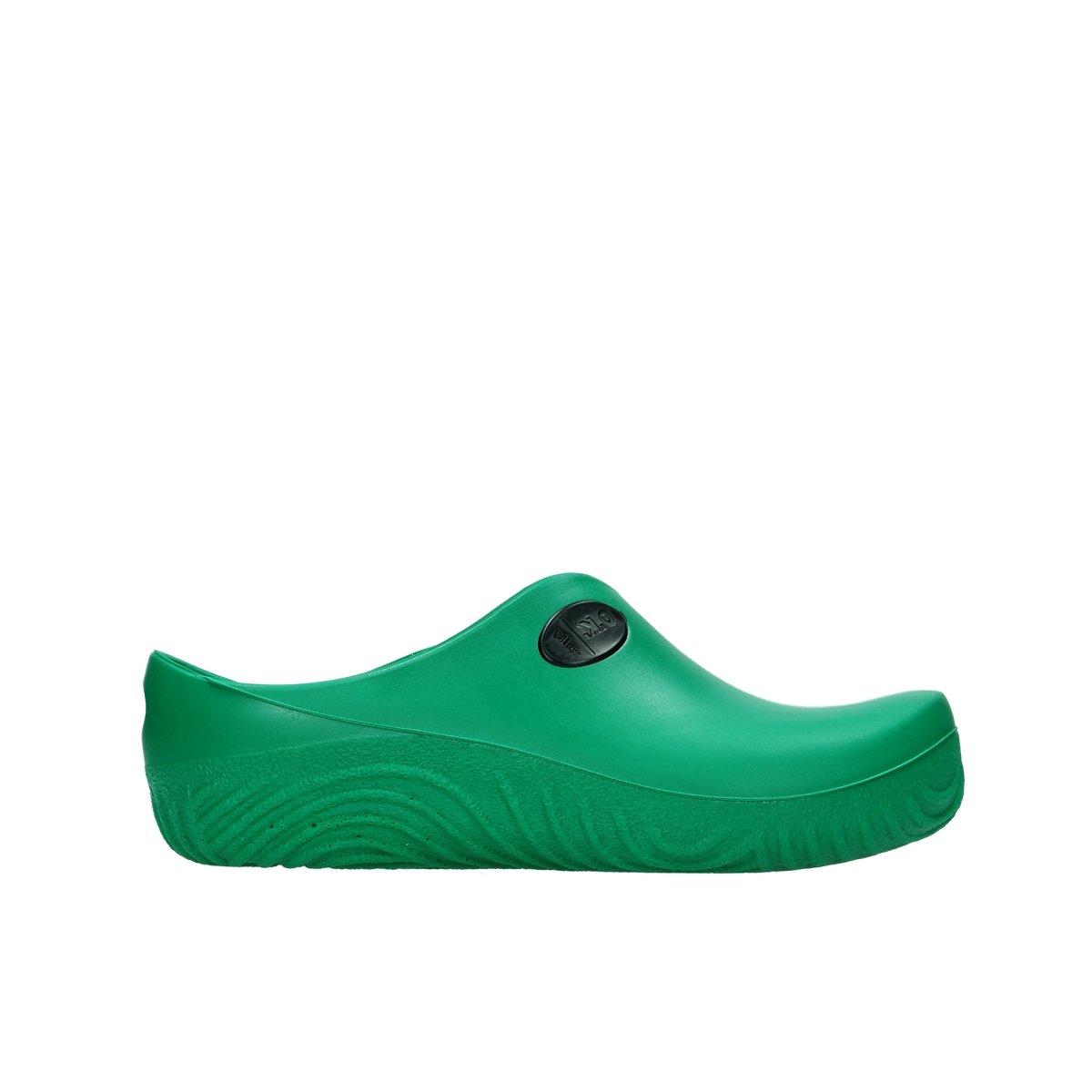 Wolky Zuecos Comfort 02550 OK Clog 37 EU 90700 green fluor PU