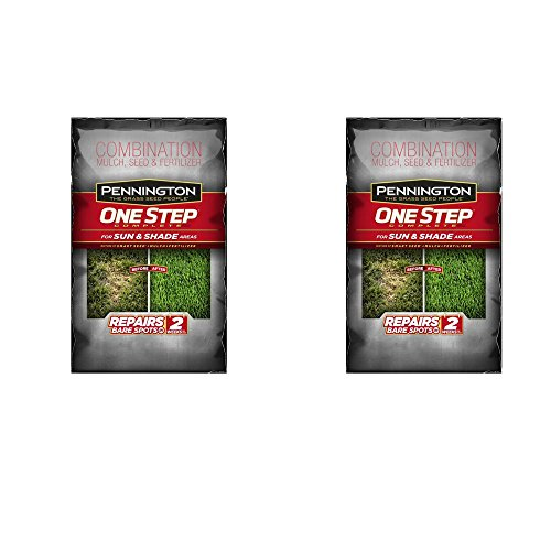 Pennington 1 Step Complete Sun & Shade Mulch, 8.3-Pound, Pack of 2 by Pennington