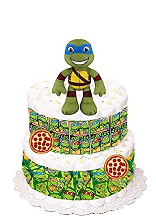 Amazon.com : Teenage Mutant Ninja Turtles Diaper Cake ...