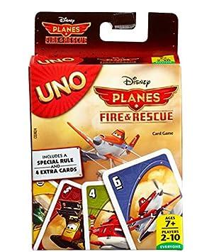 Planes Uno Juego De Mesa Mattel Cgn24 Amazon Es Juguetes Y Juegos