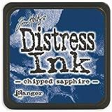 Tim Holtz Distress Mini Ink Pads-Chipped Sapphire