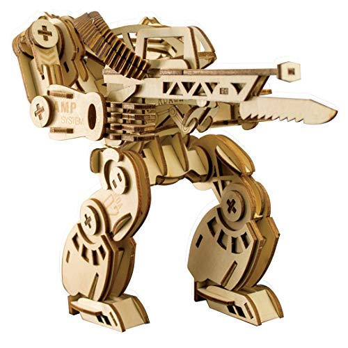 (Beyond280 Laser Cut 3D Wooden Powersuit Puzzle Family Friends Fun Time Boys Educational Learning Toy | Adult Puzzle | 217 pcs)