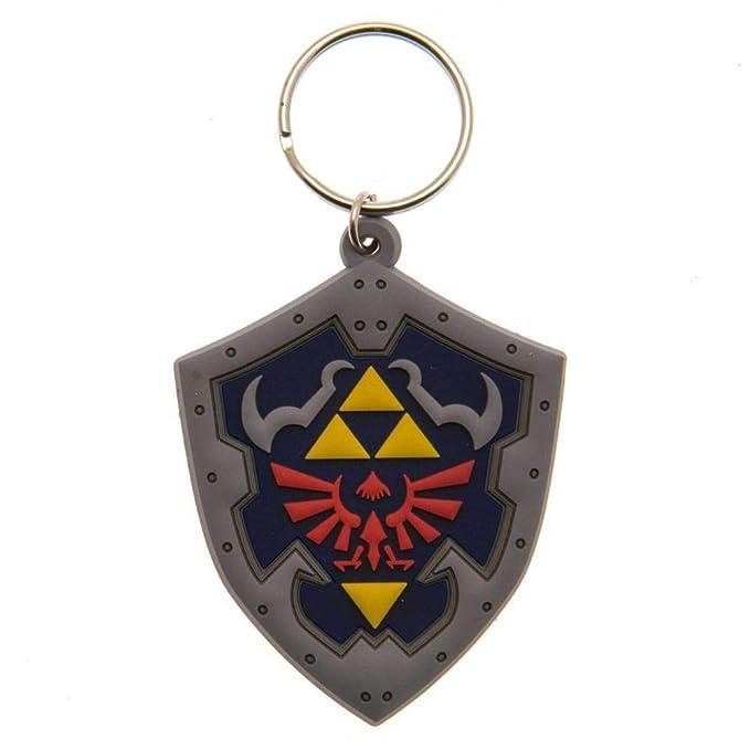 The Legend of Zelda - Llavero de escudo (Talla Única ...