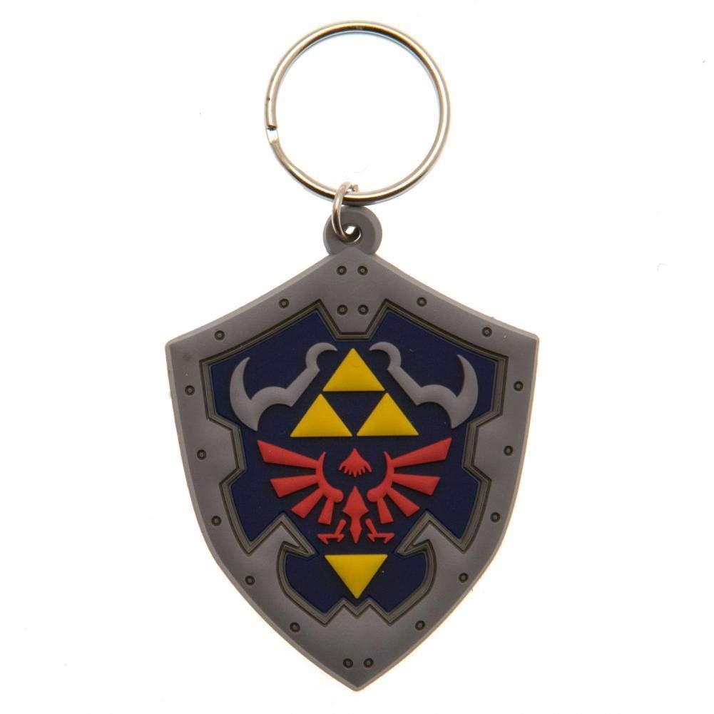 The Legend Of Zelda Shield Keyring (One Size) (Multi-color) by Legend of Zelda (Image #1)