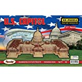 3D Natural Wood Puzzle - U.S. Capitol Building