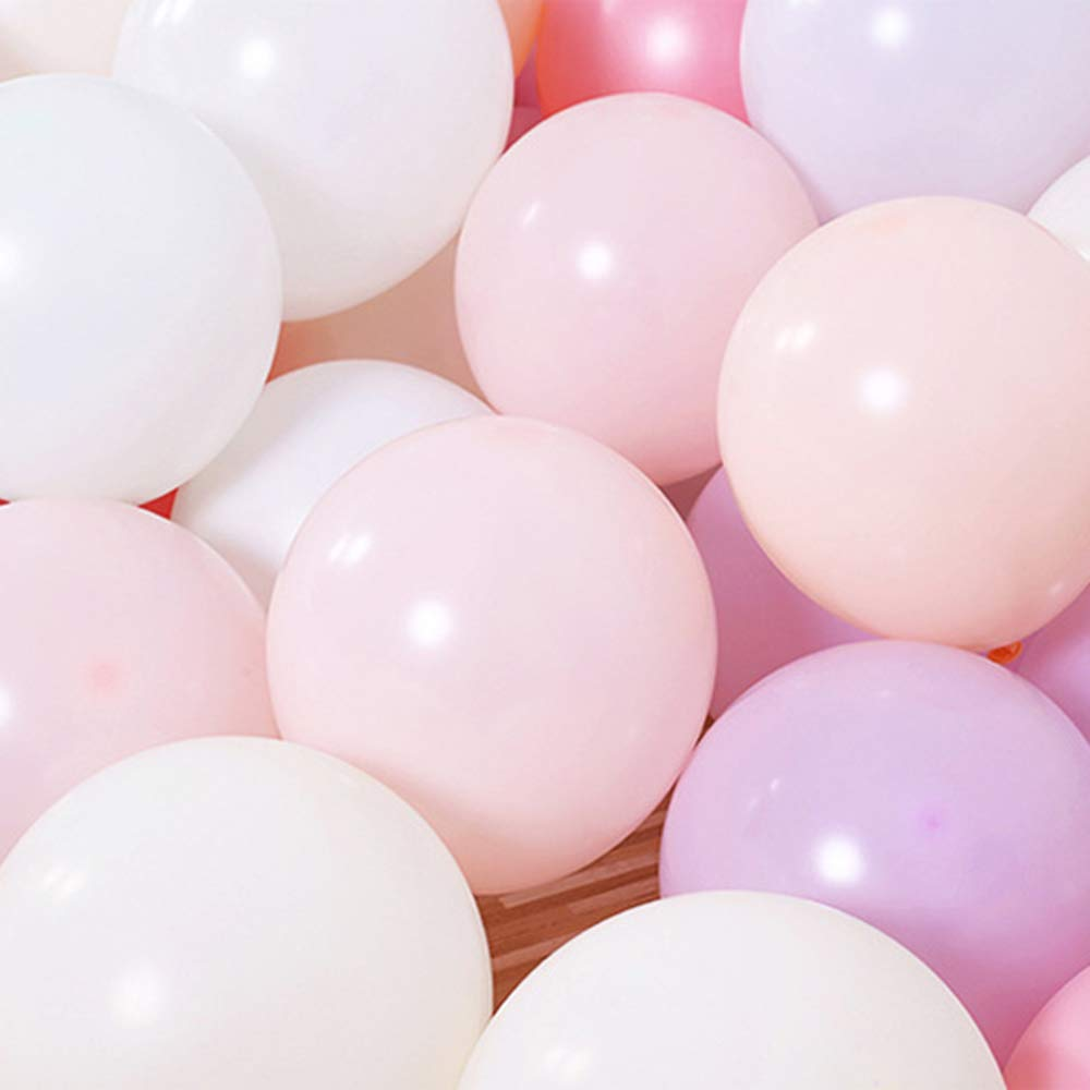 YETE 100 Pack de 10 pulgadas Macarons Pastel Globos de l/átex para cumplea/ños Bodas Graduaci/ón Aniversario Compromiso Navidad o Amigos y familia Decoraciones para fiestas