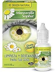 Manzanilla Sophia gotas 15 ml, limpieza y descanso de origen natural para los ojos.