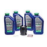 Tusk 4-Stroke Oil Change Kit Polaris PS-4 Plus 5W-50 - Fits: Polaris RANGER RZR XP 900 2011-2012