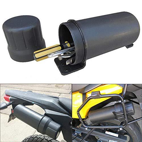 (KEMiMOTO Motorcycle Tool Tube Waterproof Gloves Storage Box for BMW Honda YAMAHA Kawasaki)