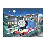 Thomas' Midnight Ride 100 pc glow in the dark puzzle