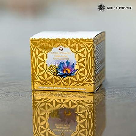 GOLDEN PYRAMIDE   Crema Facial Antiedad Oro 22K, 50ml
