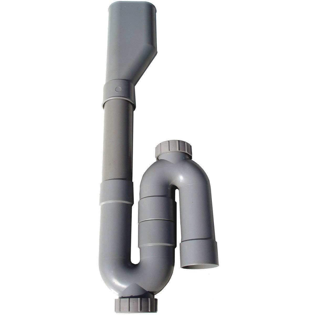 Sifón lavadora – Double – Salida vertical – Altech 0 – 69: Amazon ...