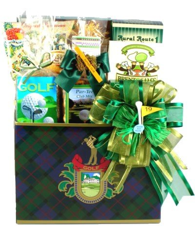 Gift Basket Village Deluxe Fore You Golfer Gift Basket for Golfers
