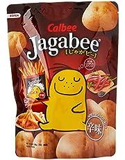 Calbee Spicy Jagabee Potato Stick Pouch, Spicy