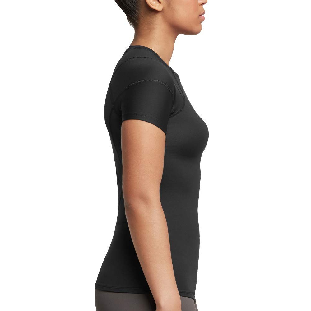 Tommie Copper Women's Pro-Grade Shoulder Centric Support Shirt, Black, Medium by Tommie Copper (Image #5)