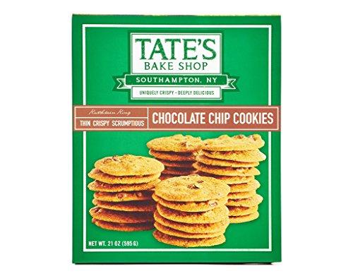 - Tate's Bake Shop Thin Crispy Scrumptious Chocolate Chip Cookie, 21 Ounce