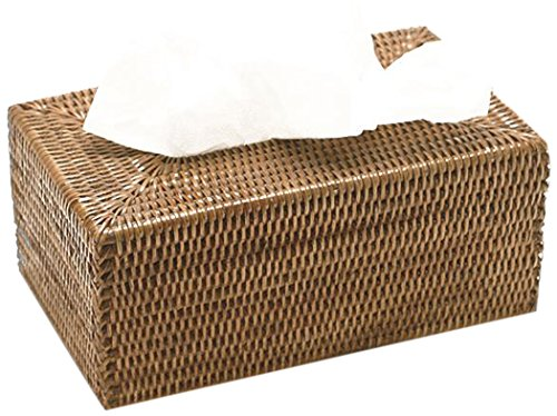 (Artifacts Trading Company Rattan Long Tissue Box, 10