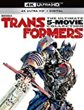 Transformers: The Ultimate Five Movie Collection (Includes: Transformers, Age of Extinction, Dark of the Moon, Revenge of the Fallen, The Last Knight) [4K] [Blu-ray]