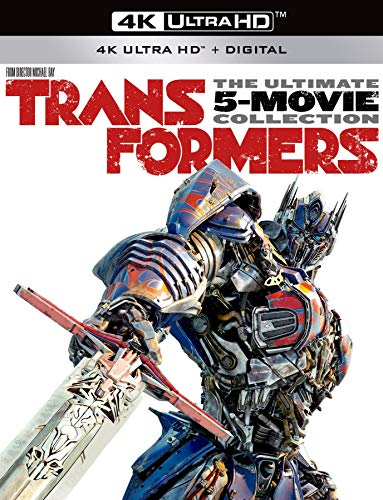 Transformers The Ultimate 5-Movie Collection [Blu-ray] (Transformer Dark Side Of The Moon Game)