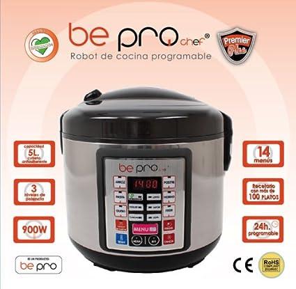 Top SHOP BePro Chef Robot de cocina Potencia: 900 W. para cocción al horno y a vapor DB5: Amazon.es: Hogar