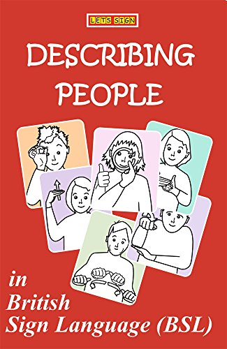 DESCRIBING PEOPLE in British Sign Language (BSL) (LET'S SIGN BSL)