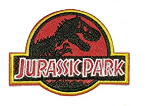 Ingen Jurassic Park Movie Iron on Sew on Embroidered Patch