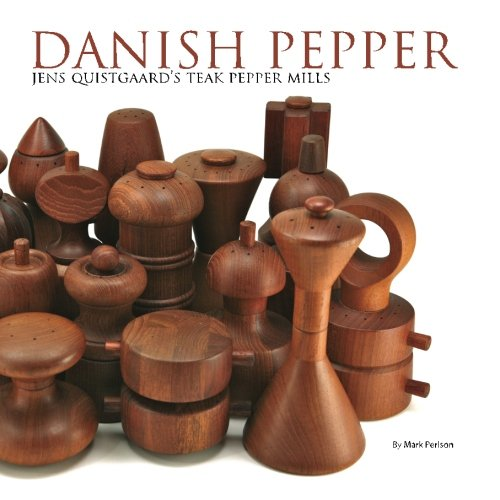 (Danish Pepper: Jens Quistgaard's Teak Pepper Mills)