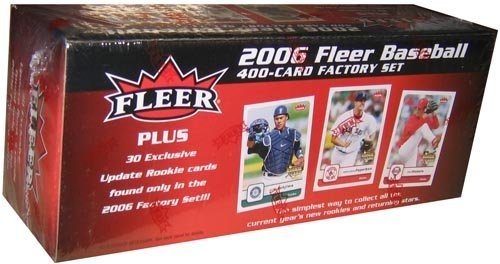 2006 Fleer Rookie Baseball Card - 2006 Fleer Baseball Factory Set