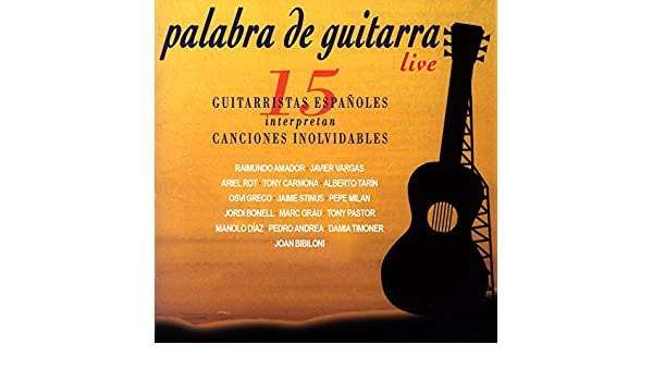 Palabra de Guitarra (En Vivo) de Joan Bibiloni en Amazon Music - Amazon.es