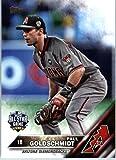 2016 Topps Update #US273 Paul Goldschmidt Arizona Diamondbacks Baseball All-Star Card in Protective Screwdown Display Case
