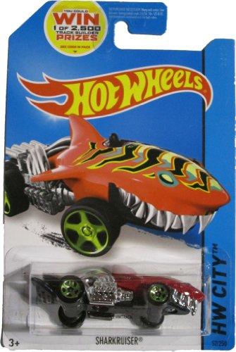 Hot Wheels 2014 HW City Street Beasts Sharkruiser (Shark Car) 52/250, Red