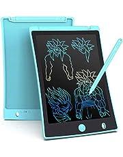 LCD schrijftablet 8.5 inch, draagbaar, Kleurrijk, ultra dun papier drawing schrijfbord geschenken voor kinderen, volwassenen, Office School en Home schrijfpads (Lichtblauw)