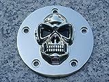i5 Chrome Skull Points Cover for Harley Davidson