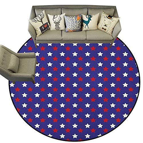 USA,Carpet Flooring United States of America Theme Federal Holiday Celebration Revolution Design D54 Soft Area Rug for Children Baby