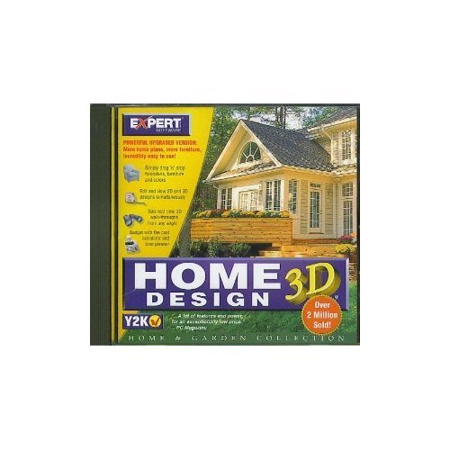 Amazing HOME DESIGN 3D (CD ROM) BY EXPERT SOFTWARE