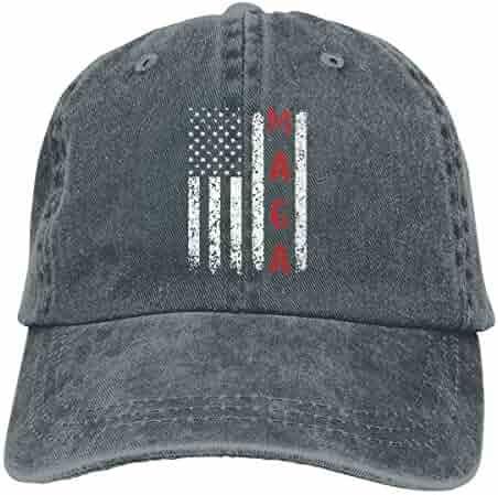 1868135dd3c Unisex Make America Great Again MAGA Vintage Adjustable Baseball Cap Denim Dad  Hat