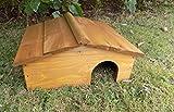 Wooden Hedgehog House - Hibernation Shelter - Hedgehogs Hom