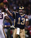 KURT WARNER ST. LOUIS RAMS 8X10 SPORTS ACTION PHOTO (A)