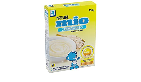 Amazon.com: Nestlé My Rice Cream Gluten Free 250g: Health & Personal Care