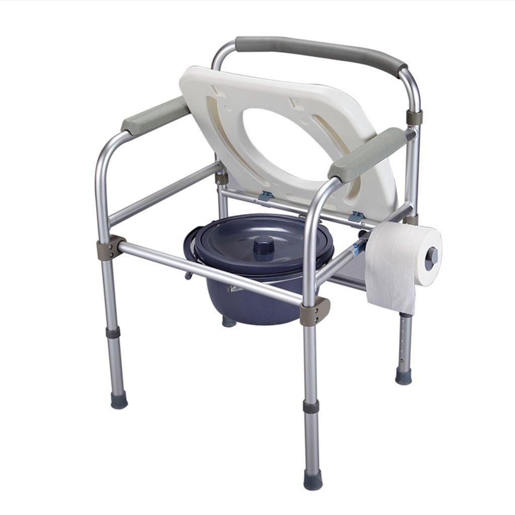GRJH® トイレの椅子、リムーバブルそれはバスルームを移動することができます老人の妊婦のトイレ 防水,環境の快適さ   B079GR35TG