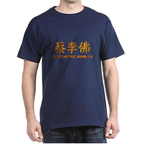 CafePress choy Lay Fut caligraphy - 100% Cotton T-Shirt