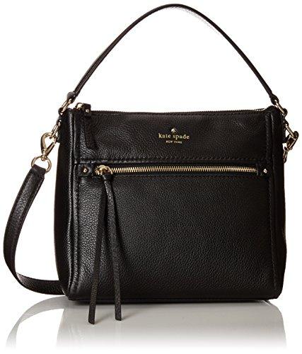 kate spade new york Cobble Hill Small Harris Shoulder Bag, Black, One