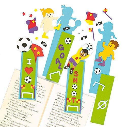 Baker Ross Lot De 4 Kits Marque Pages Ballon De Football à Assembler