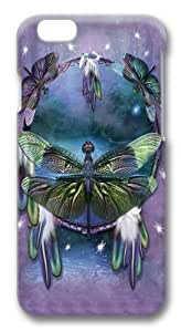 iphone 6 plus Case,Dragonfly Dreamcatcher PC Hard Plastic Case for iphone 6 plus 5.5 inch 3D
