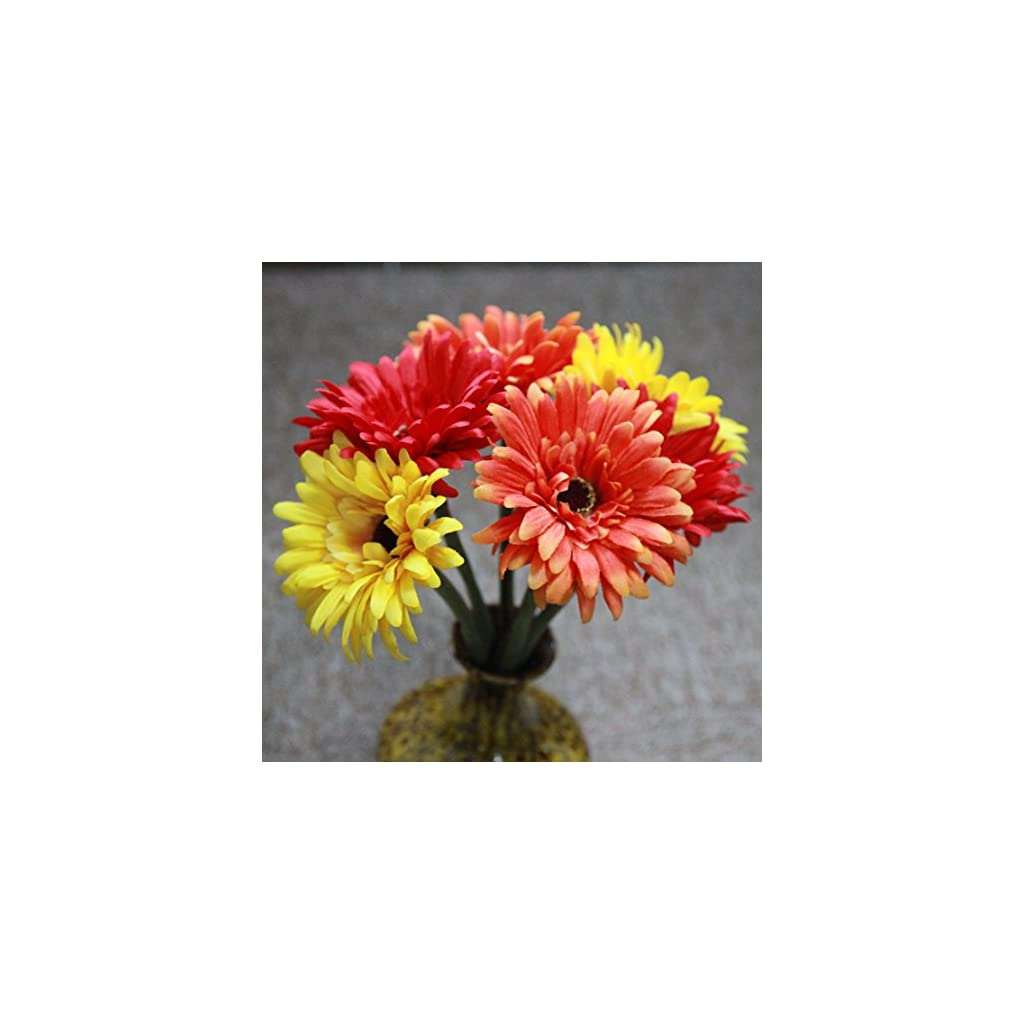 Marlles-6-pcs-Artificial-Daisy-Bridal-Flowers-Bouquet-Real-Touch-Silk-Chrysanthemum-Flowers-Plastic-Fake-Sunflower-Simulation-Gerber-Dimorphotheca-Wedding-Holiday-Home-Party-Decor-Bridesmaid