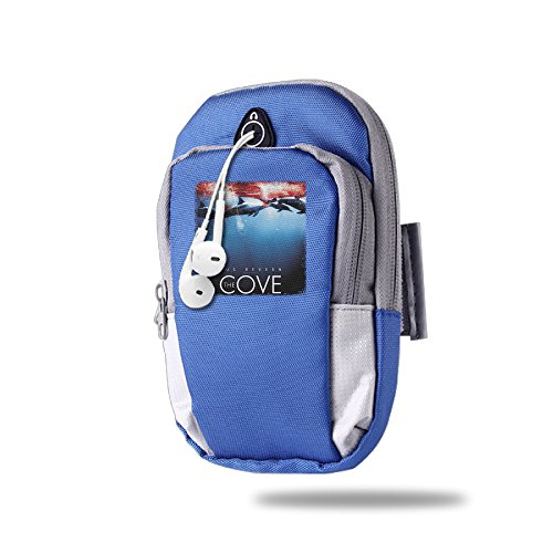 LHLKF The Cove The Rising Personality Pockets For Outdoor SportS (Iphone 4 Case Smurf)