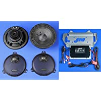 J&M ROKKER XXR EXTREME 330w 2-Speaker/Amplifier Installation Kit for 14-UP Harley StreetGlide/Ultra