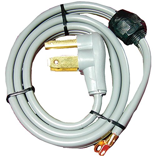 (CERTIFIED APPLIANCE 90-1020QC 3-Wire Quick-Connect Dryer Cord, 4ft (Closed Eyelet) Home, garden & living)
