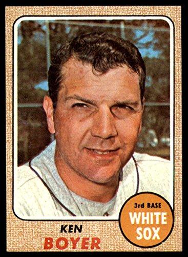 Baseball MLB 1968 Topps #259 Ken Boyer NM Near Mint White Sox